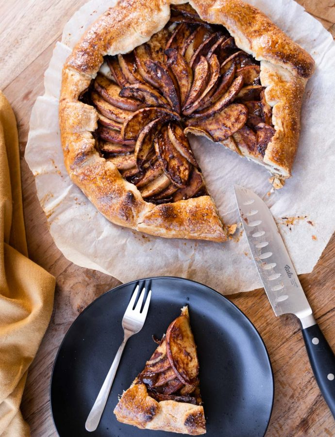 Appelgalette recept (video)