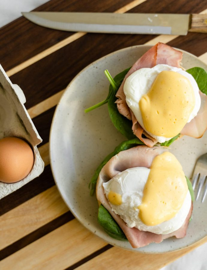 Eggs benedict recept & tips