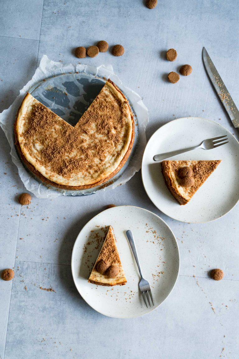 Sinterklaas speculaas cheesecake