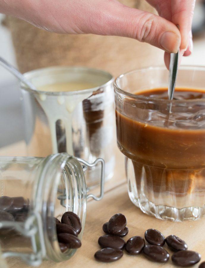 Vietnamese ijskoffie: cà phê đá maken